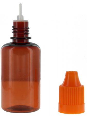 30 ml bruin druppelflesjes kindveilige sluiting