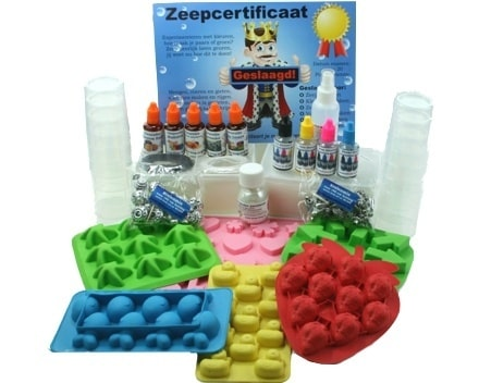 Kinderfest Seife machen Paket bis 6 Kinder:
